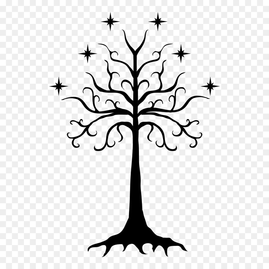 White Tree Of Gondor 1051241 Png Images Pngio
