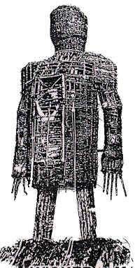 Wicker Man Png - Wicker Man Black and White transparent PNG - StickPNG