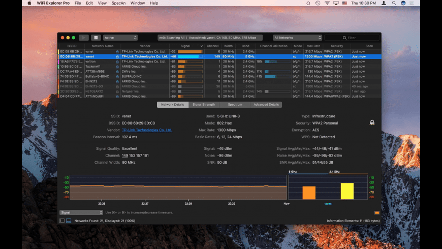 Wifi Explorer Png - WiFi Explorer Pro for Mac: Free Download + Review [Latest Version]