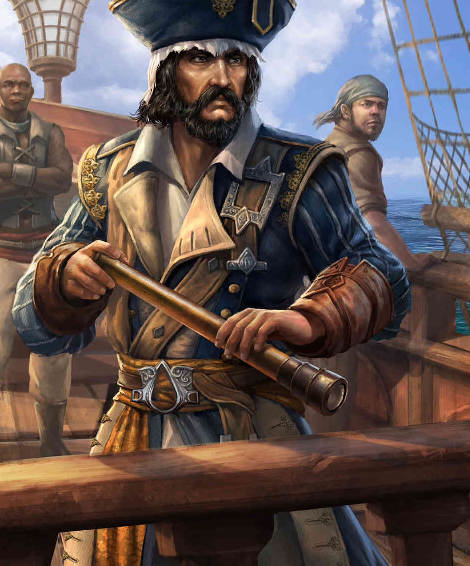 William Kidd | Assassin's Creed Wiki | F #2571098 - PNG Images - PNGio