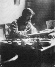 Black And White Png Man At Messy Desk - William Wallace Denslow - Wikipedia