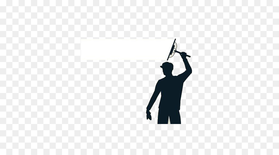 Window Cleaning Man Png - Window cleaner Maid service Advertising - Silhouette of men's ...