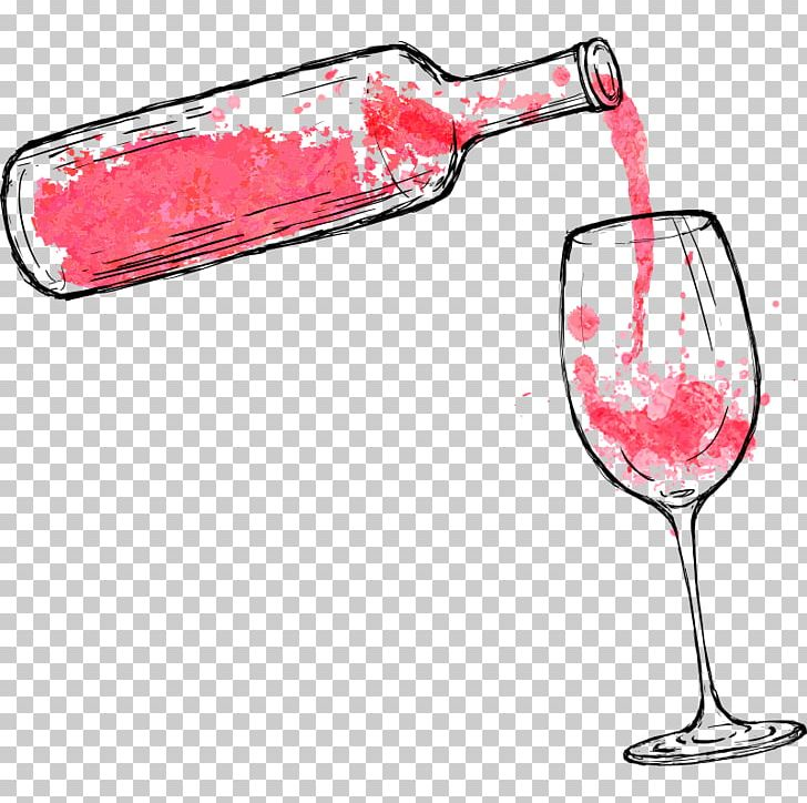 Paint And Sip Industry Png - Wine Watercolor Painting Paint And Sip I #1454214 - PNG Images - PNGio