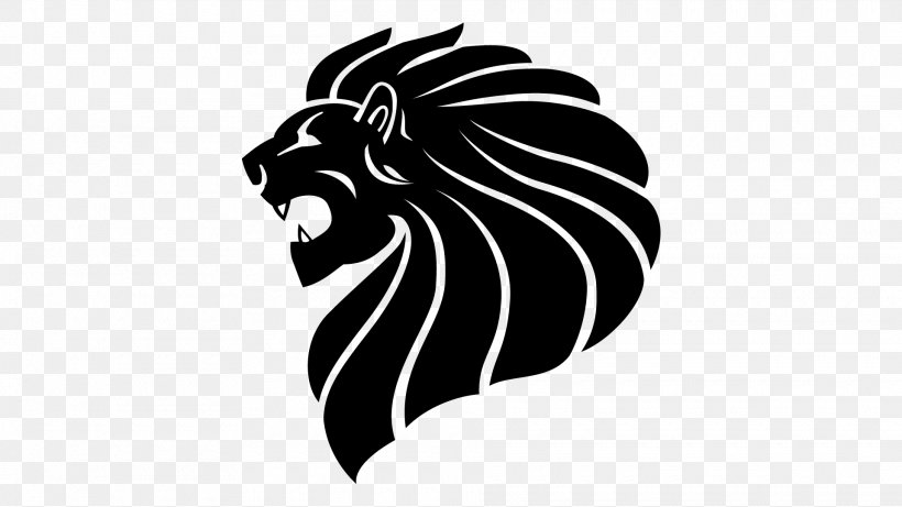 Winged Png - Winged Lion Roar, PNG, 1920x1080px, Lion, Black, Black And White ...
