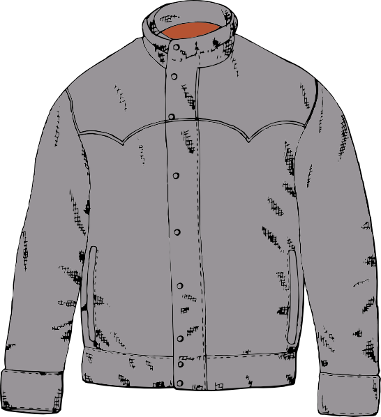 Winter Coat Png Black And White - Winter Coat Clipart Group with 88+ items