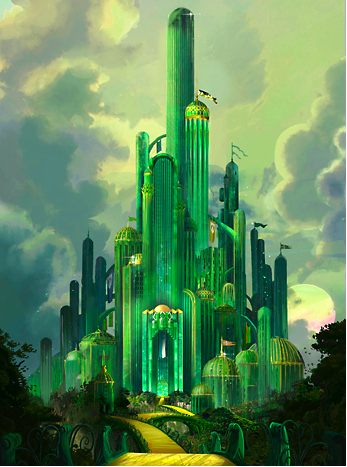 Wizard Of Oz Emerald City The Wizard O 182621 Png