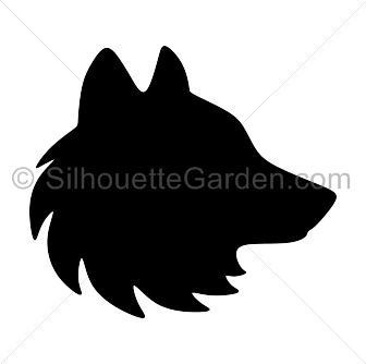 Wolf Head Silhouette Png - Wolf head silhouette clip art. Download free versions of the image ...