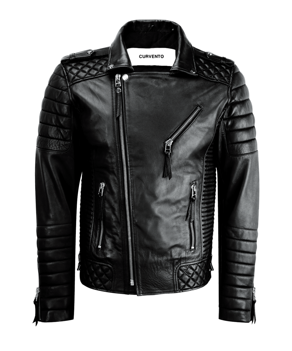 Jacket Png - Wolf Motorbike Leather Jacket MJM913-1.png