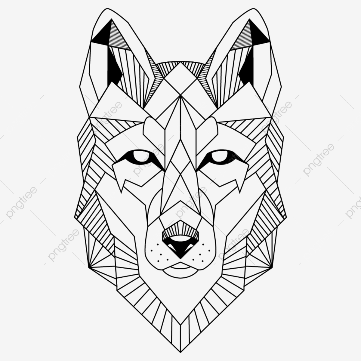 Wolf Vector - Wolf Vector, Wolf, Logo PNG and Vector with Transparent Background ...