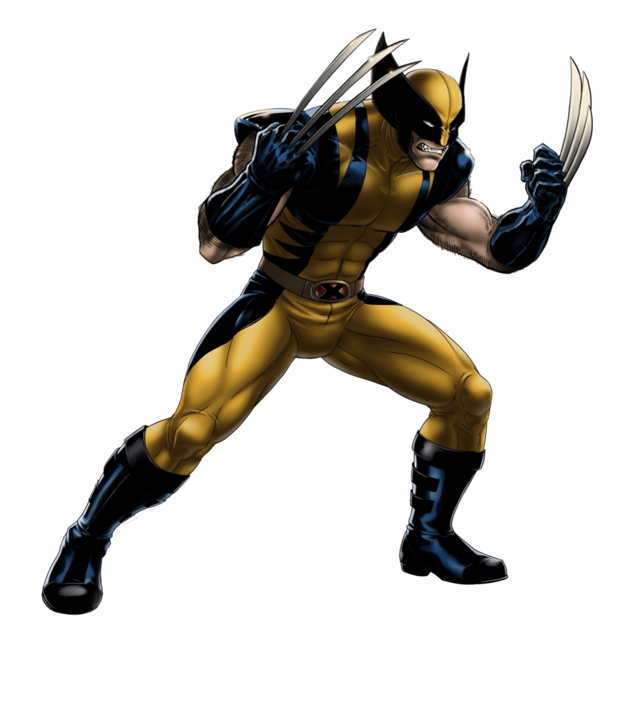 Wolverine Comic Png - Wolverine Comic Png - Wolverine Black And Yellow Suit {#90589 ...