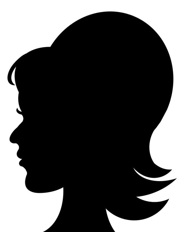 Head Silhouette Png - Woman Head Silhouette Png Images & Pictures - Becuo - Cliparts.co