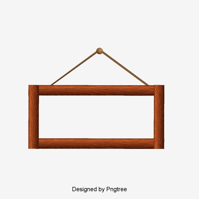 Wood Picture Frame Png - Wooden Frame PNG Images   Vector and PSD Files   Free Download on ...