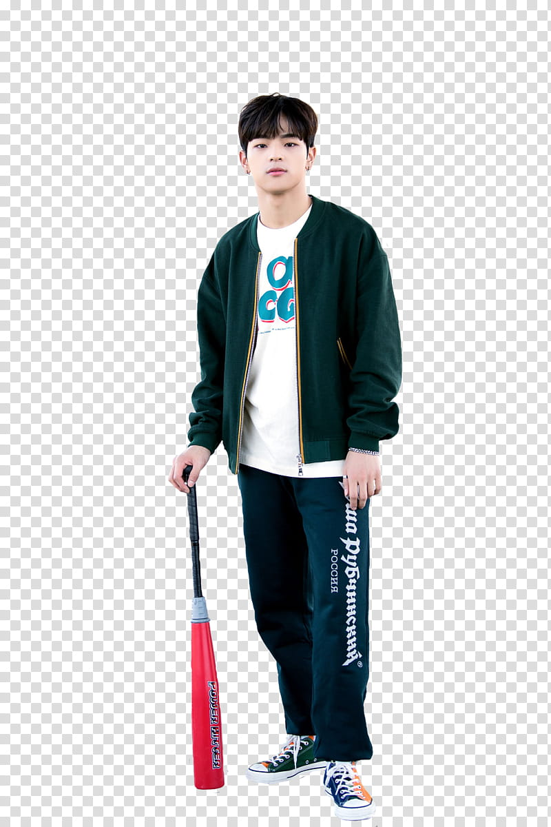 Kim Woojin Png - Woojin Stray Kids, men holding a red and black bat close-up graphy ...