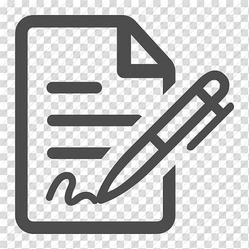 Worksheet Png - Worksheet and pen icon illustration, Computer Icons Document Sign ...