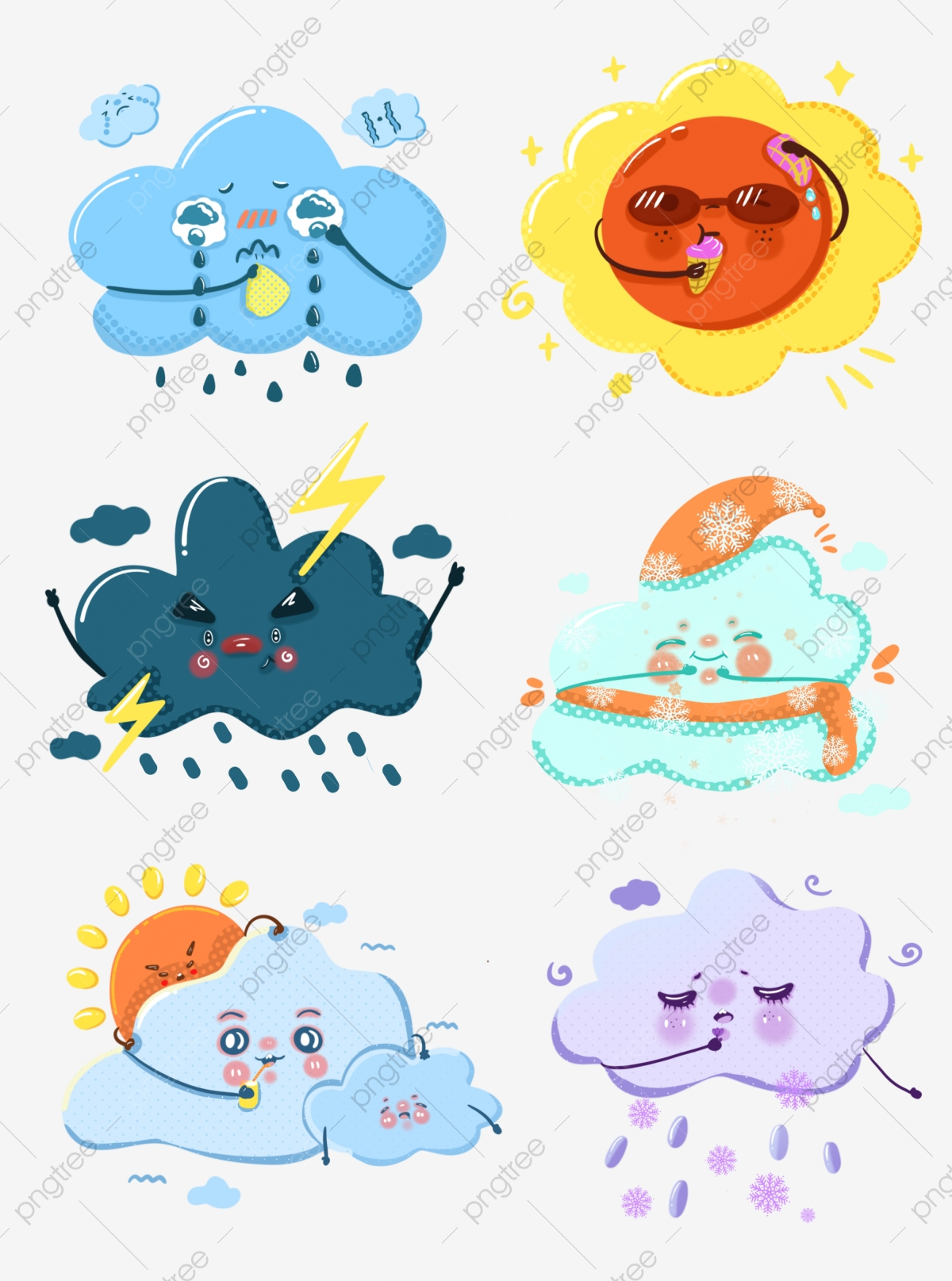 Cloudy Rainy Day Png - World Meteorological Day Weather Cartoon Image Sunny Rainy Day ...