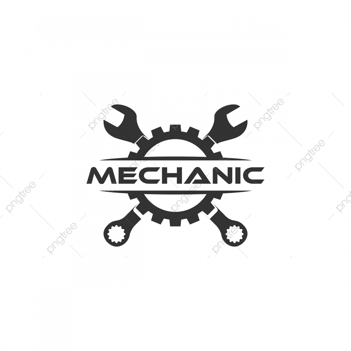 Happy Car Wrench Png - Wrench Gear Logo Flat Logo Design, Logo, Car, Maintenance PNG and ...