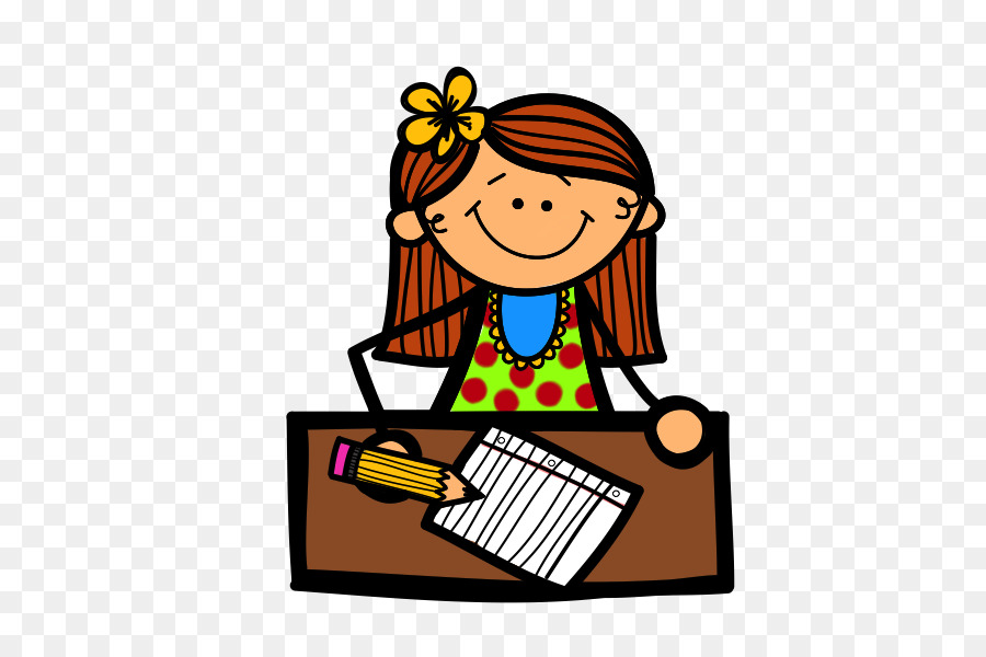 A Girl Writing Png & Free A Girl Writing.png Transparent ...