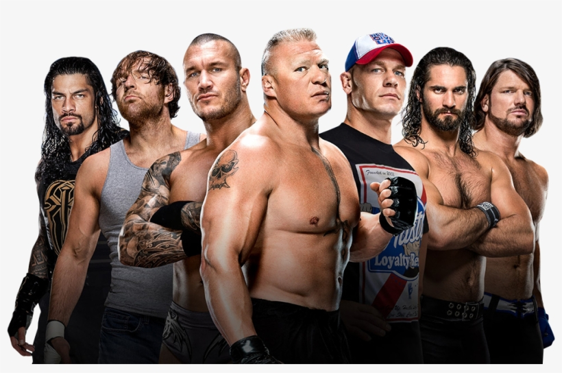 Wwe Wrestling Png - Wwe Wrestlers Group Png Transparent PNG - 974x599 - Free Download ...