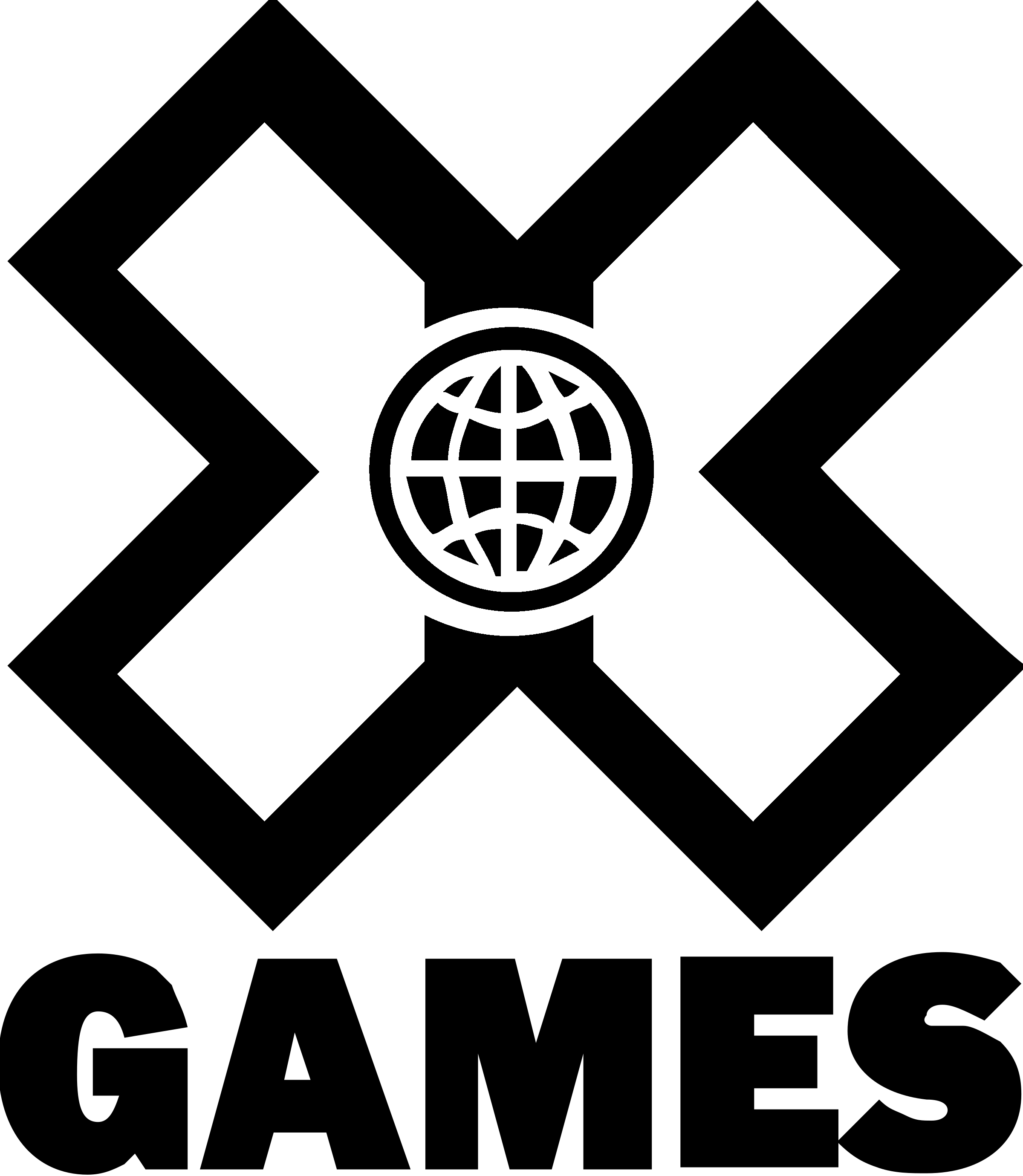 Game Black And White Png - X Games Logo PNG Transparent & SVG Vector - Freebie Supply