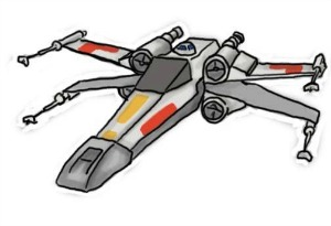 X Wing Clip Art - X wing clipart 2 » Clipart Station