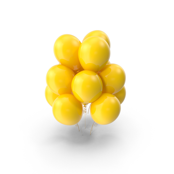 Yellow Balloons Png - Yellow Balloons PNG Images & PSDs for Download   PixelSquid ...