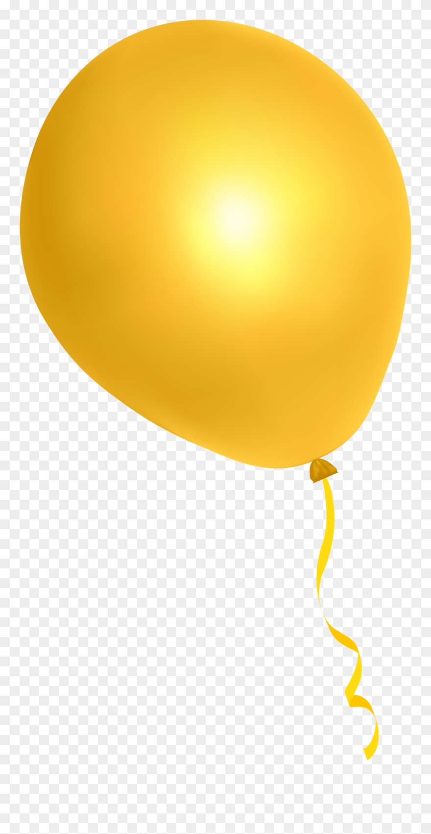 Yellow Balloons Png - Yellow Balloons Png Www Imgkid Com The Image Kid Has - Transparent ...
