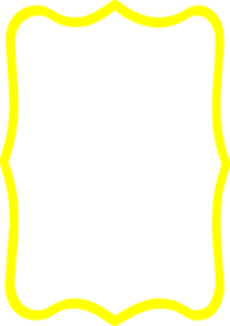 Yellow Frame Png - Yellow Frame Clip Art at PNGio - vector clip art online ...