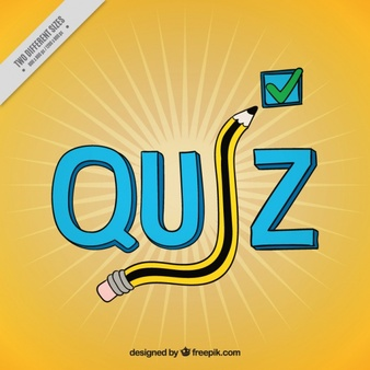 Quiz Bee Png - Yellow quiz background with questions