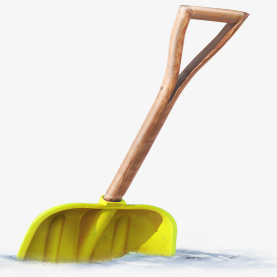 Shoveling Snow Png - Yellow Snow Shovel, Yellow, Snow Shovel, Snow PNG Clipart Image ...