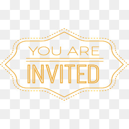 You Are Invited Png Images Vectors And 165808 Png Images Pngio