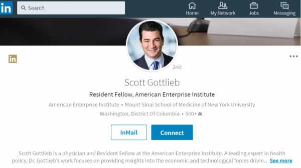 Scott Gottlieb Png - Your new FDA commissioner? Gottlieb gets unofficial nod - MedCity News