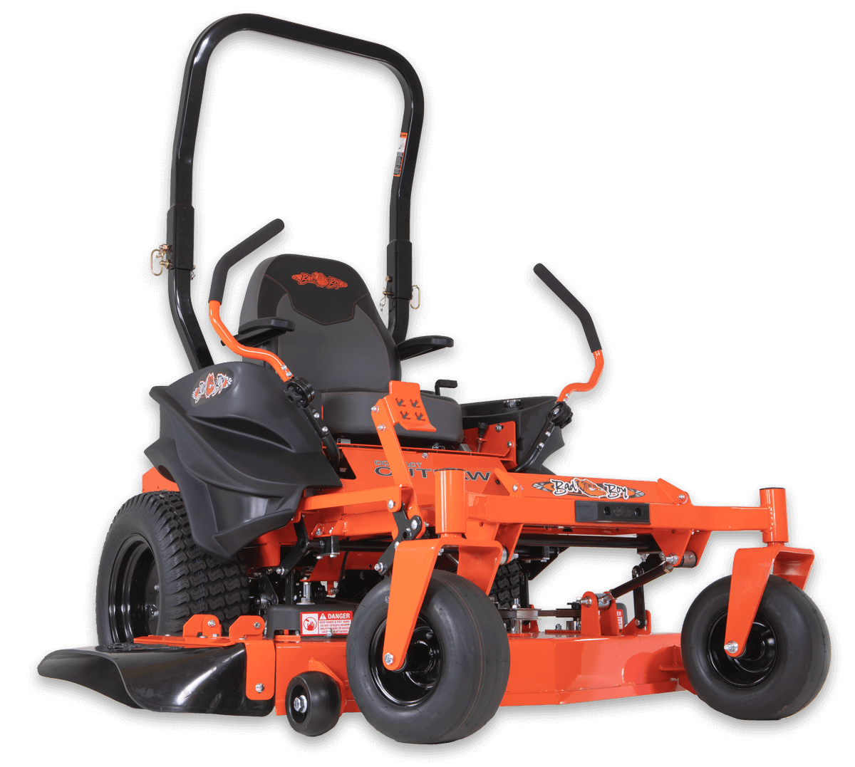 Zeroturn Mower Png - Zero Turn Commercial Lawn Mowers, EZ Ride System - Bad Boy Mowers
