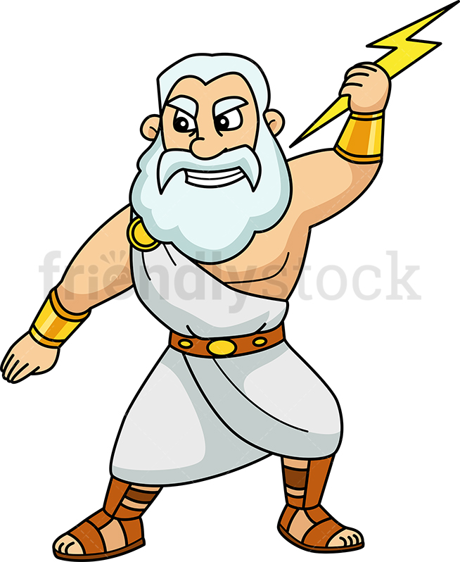 Zeus Cartoon Free Zeus Cartoon Png Transparent Images